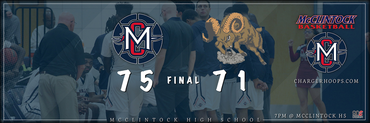 McClintock Basketball vs Maricopa Rams