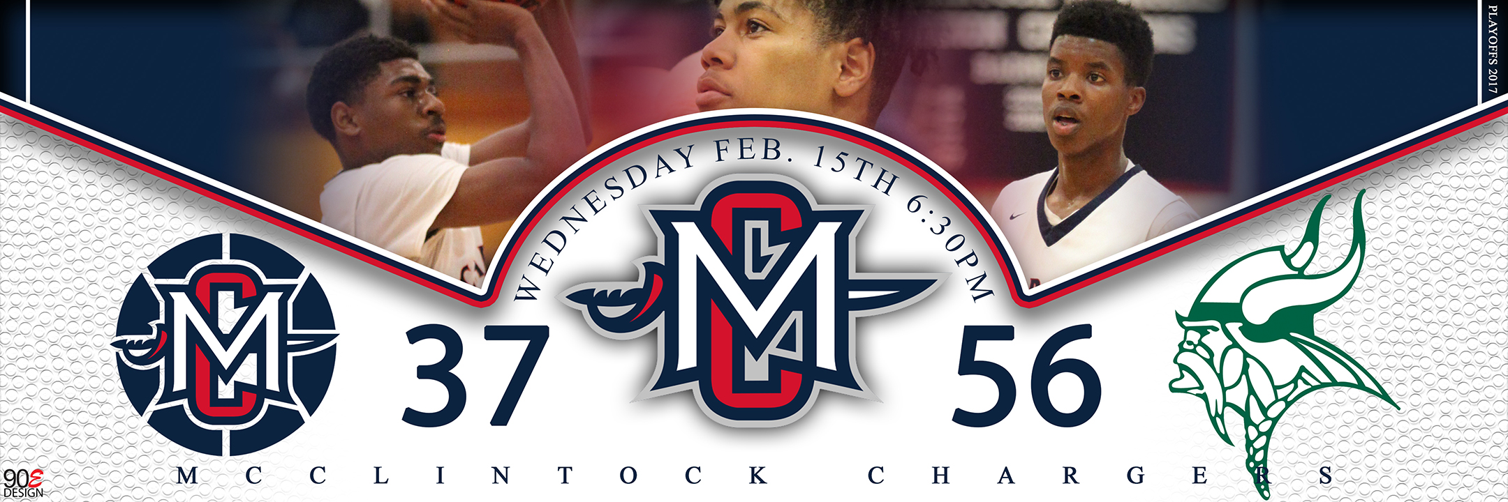 McClintock Basketball vs Sunnyslope Playoff Game 2017